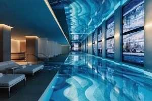 Visite du spa Dior de l'hôtel du cheval blanc à Paris