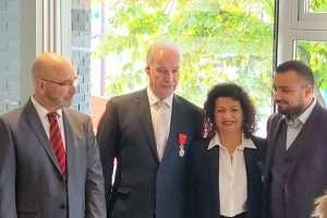 Martine Berenguel devient chevalier d l'ordre national du Mérite